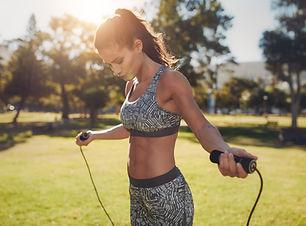 Chica en forma