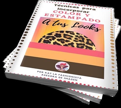 Libro Técnicas para incorporar Color y Estampado a tus Looks