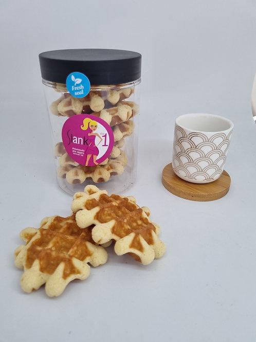 Healthy Wafels vanille  Stap 1 & 2