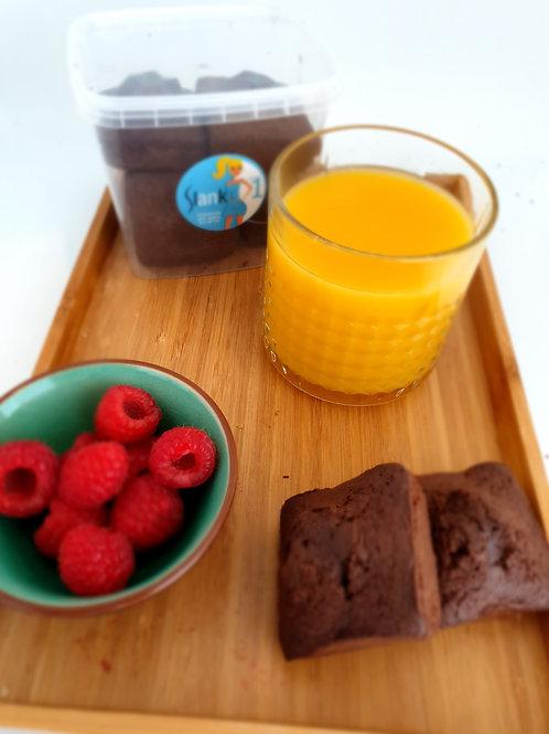Koolhydraatarme brownie stap 1