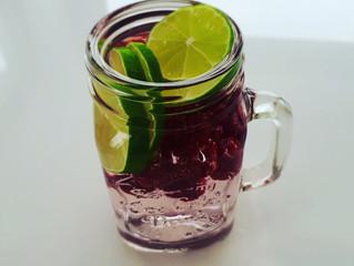 Een gezond en fris drankje
