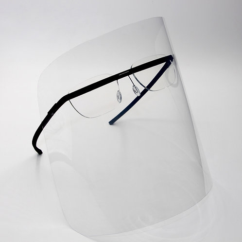 monogram shield black/ optical frame