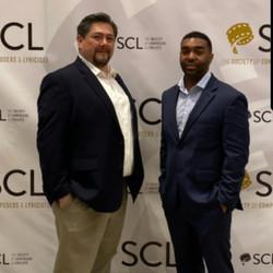 Oscar and John Rogers at SCL Oscars Reception