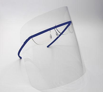 monogram shield blue/ ZEISS BlueProtect lens