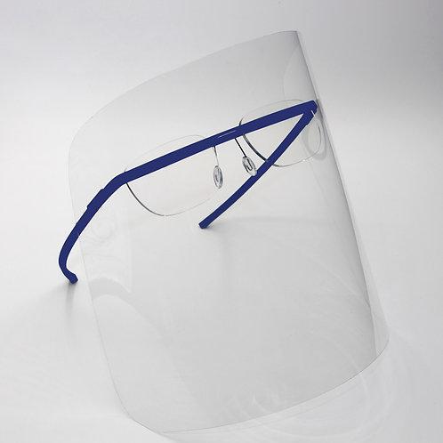 monogram shield blue/ optical frame