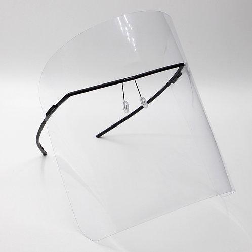 monogram shield black