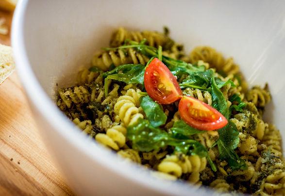 Fusilli Pesto from D'Oro Caffe