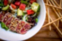 Seared Ahi Tuna Salad from D'Oro Caffe