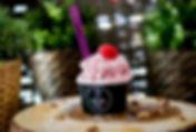 Strawberry Gelato from D'Oro Caffe