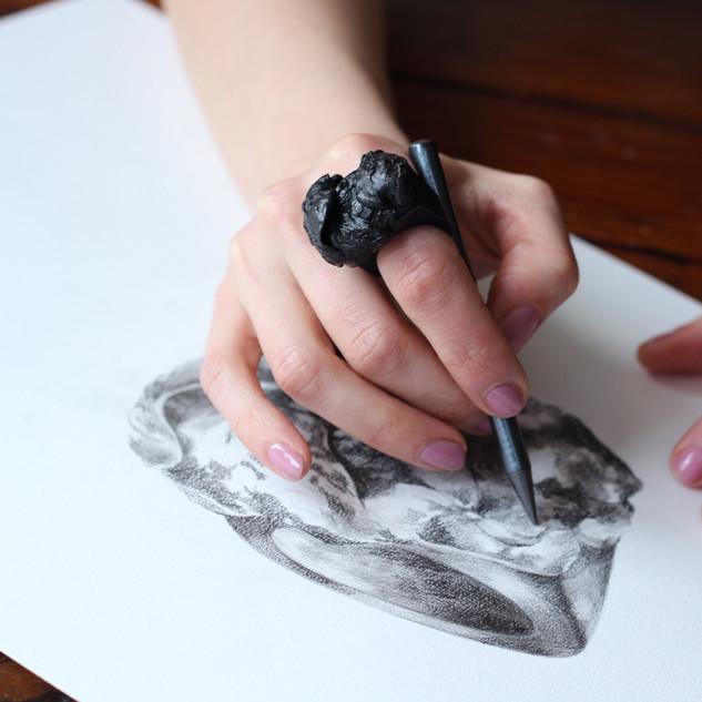 ring series 'Mon Baudelaire'