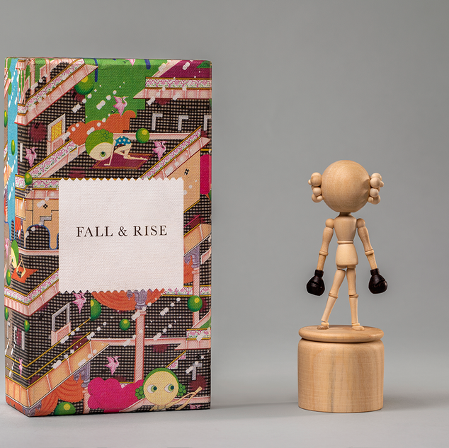 Fall & Rise Toy Sculpture