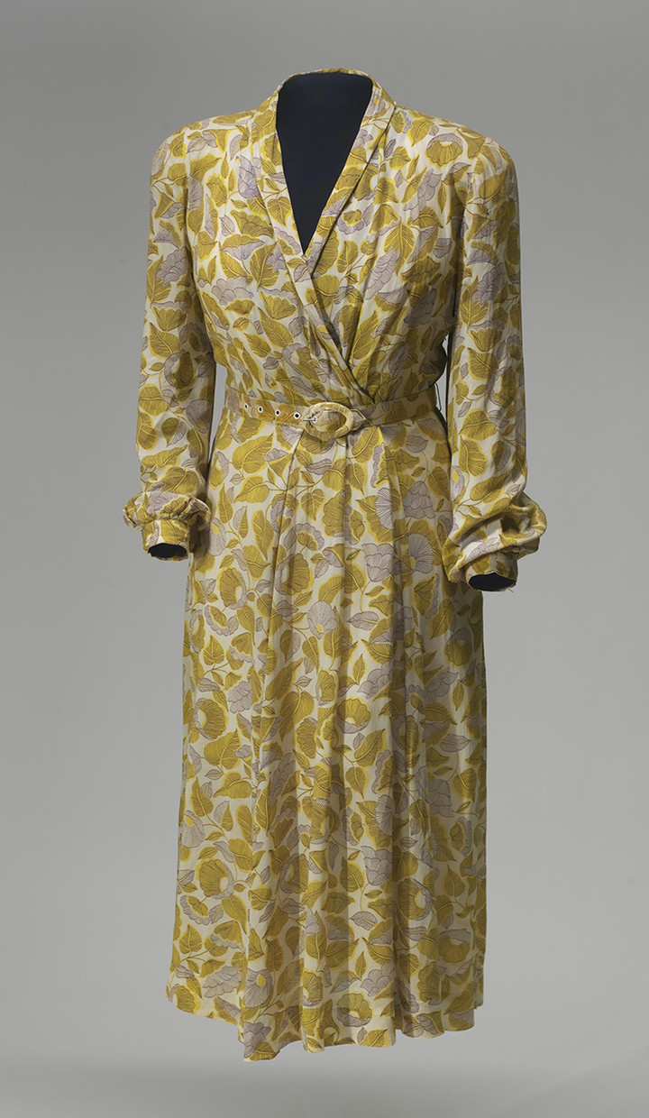 ALEX JAMISON, COLLECTION OF THE SMITHSONIAN'S NATIONAL MUSEUM OF AFRICAN AMERICAN HISTORY AND CULTURE A dress Rosa Parks had sewn that would witness her arrest in 1955.
