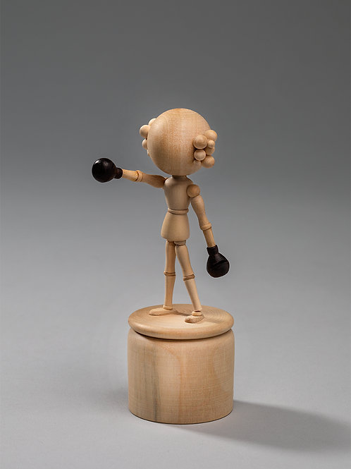 Fall & Rise Sculpture Toy, Princess Pea