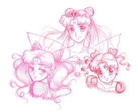 Sailor Moon, Digital