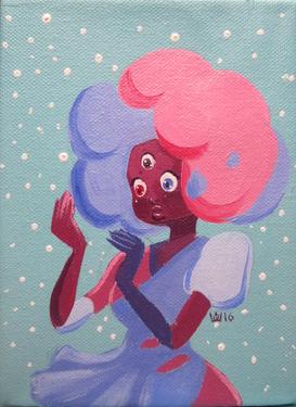 Garnet, Steven Universe, Traditional, 2020.