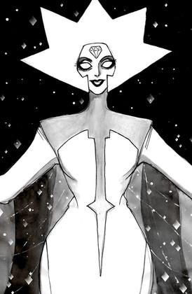 White Diamond, Steven Universe. Traditional, 2019.