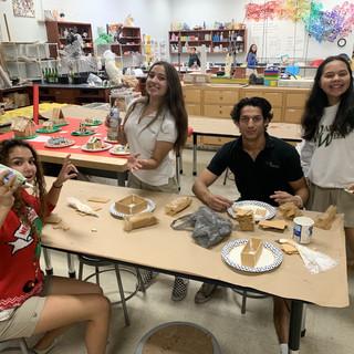 Jenna, Vale, Lorenzo & Valeria