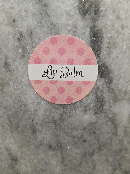Lip Balm Label