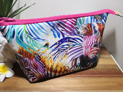 Large Handmade Pouch - 10 pocket