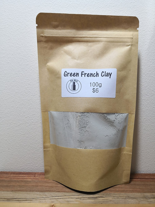 Green French Clay - 100g