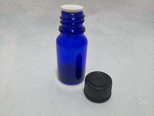 10ml  Glass Bottle - Blue