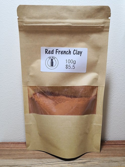 Red French Clay - 100g