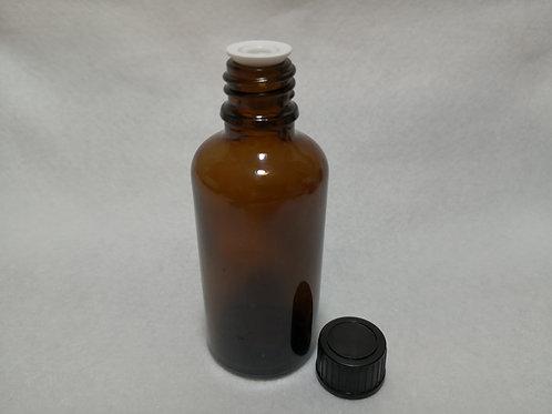 50ml Glass Bottle - Amber