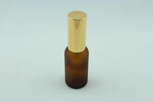 30ml  Glass Spray Bottle - Frosted Amber