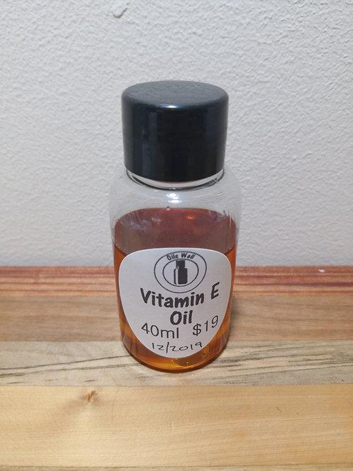 Vitamin E Oil (natural) - 40ml