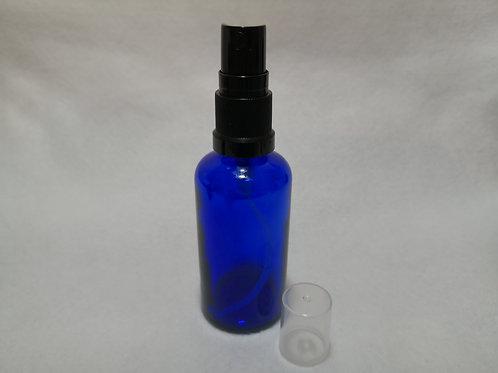 50ml Glass Spray Bottle - Blue