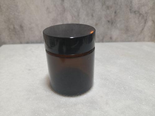 30g Glass Jar - Amber