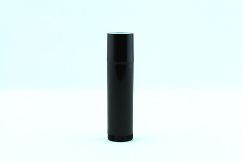 Lip Balm Tube - Black 6PACK