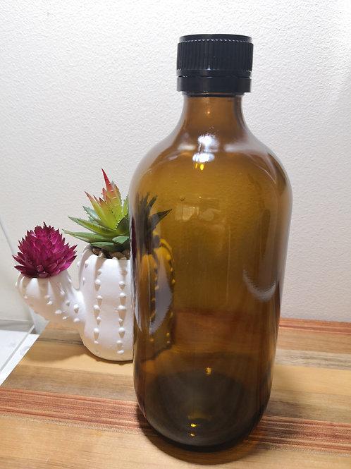 500ml Glass Bottle - Amber