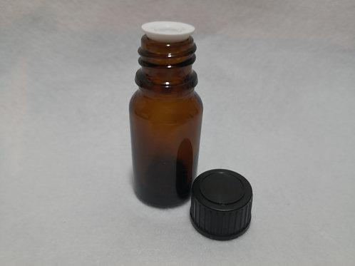 10ml  Glass Bottle - Amber