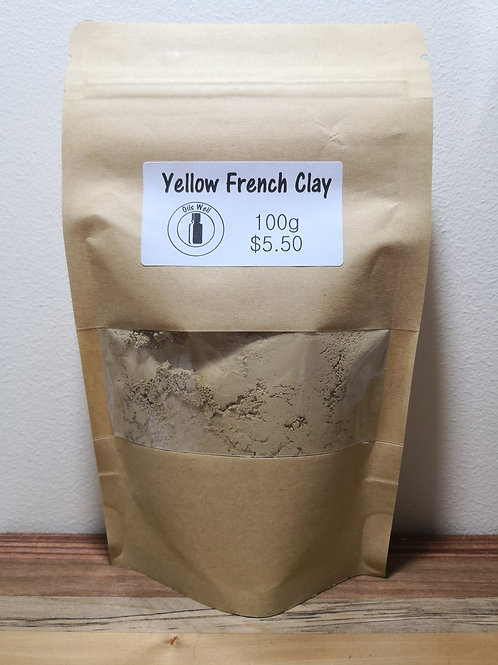 Yellow French Clay - 100g