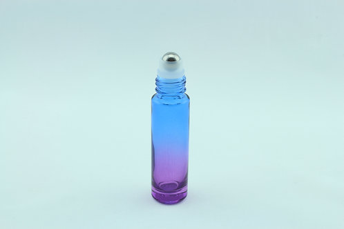 10ml Roller Bottle - Gradient/Ombre Blue to Purple