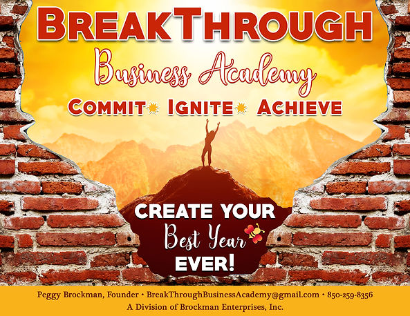 peggy brockman breakthrough graphic FINA