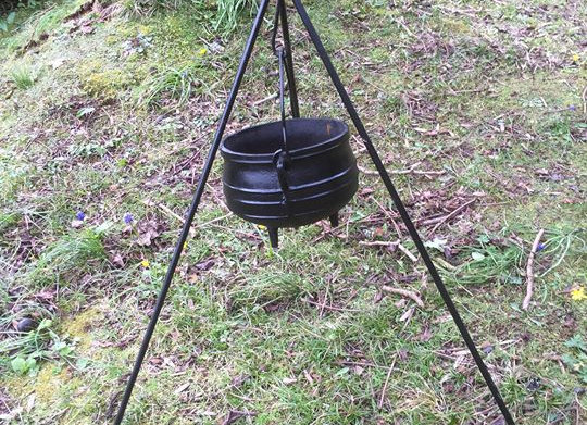Camping Cooking pot tripod