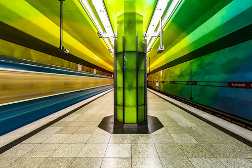 Munich Underground, Candidplatz pt. II 🚊