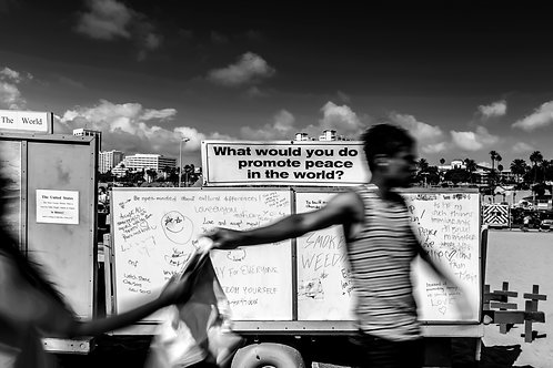 What would you do?  ☮