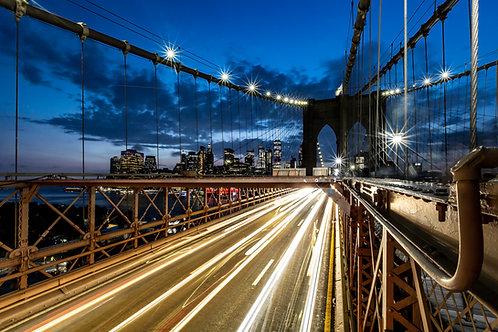 Brooklyn Bridge on fire 🔥