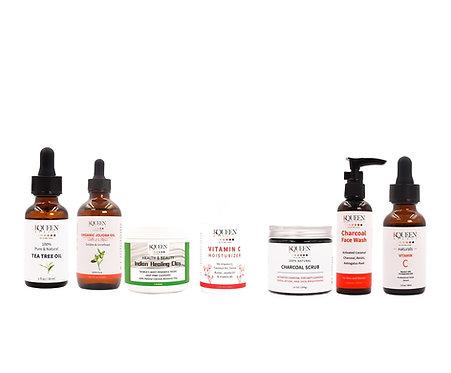 Gamme complète pour soin de la peau & nettoyage en profondeur (15 produits)