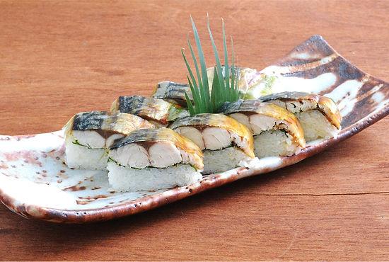 焼鯖寿司 1080円(税抜)