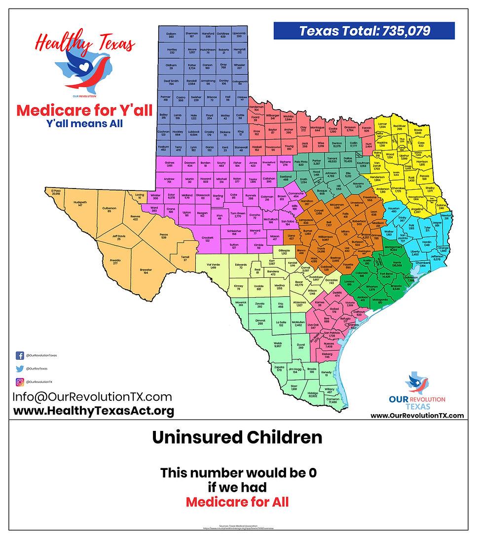 Uninsured Children in Texas Map (2019).j