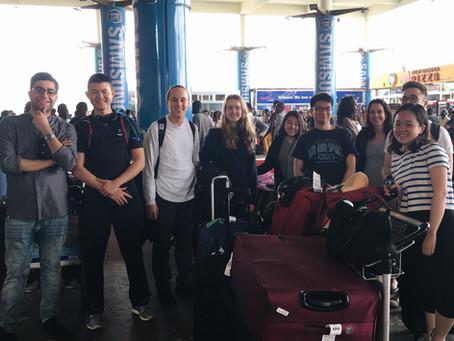 Stern International Volunteers - Ghana: Day 1