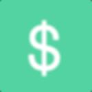 Sinal de dólar - Green