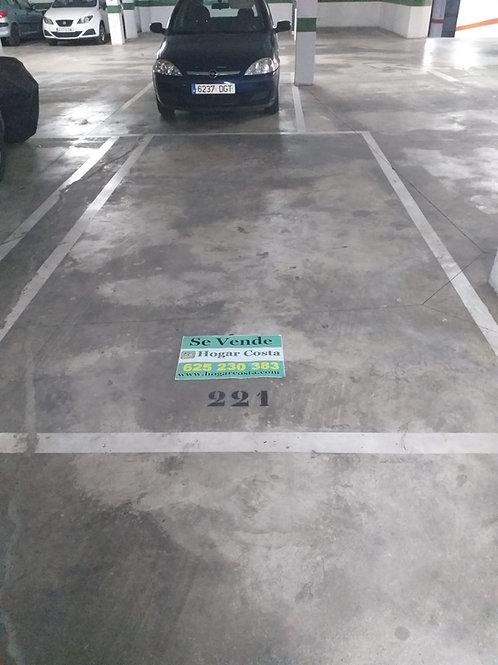 REF. 2196 Parking en Elche Zona Cortes Valencianas