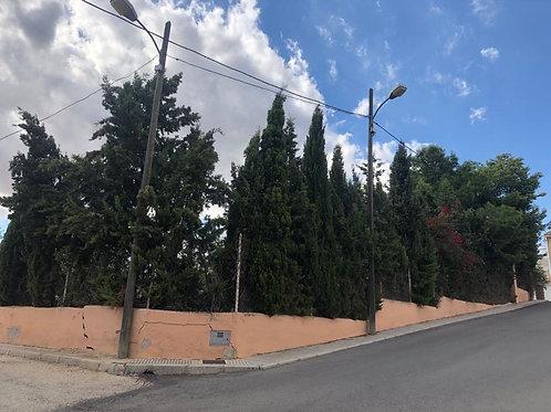 REF. 2198 Solar urbano en Hondon de las Nieves