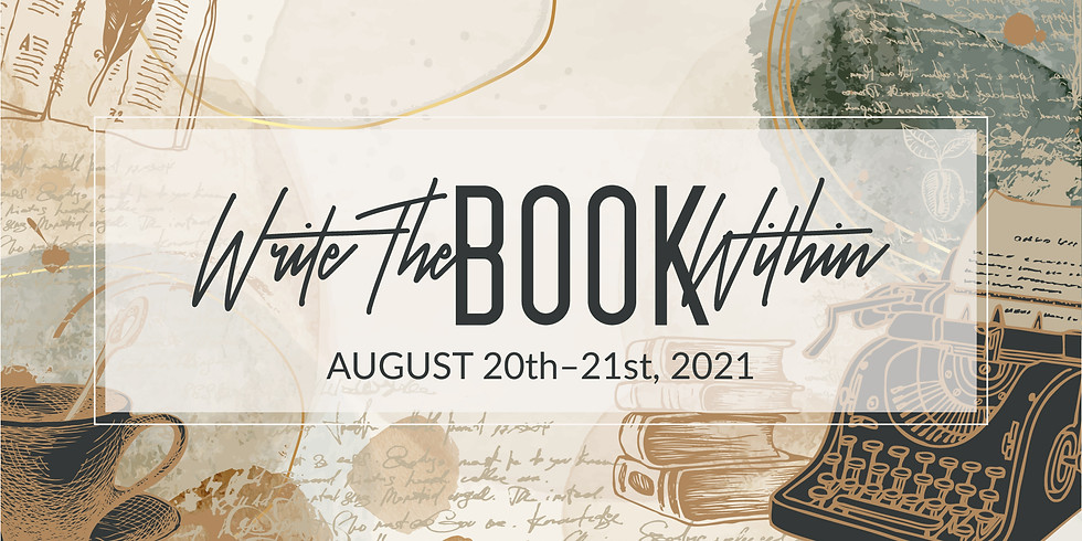 Write The Book Within - August Webinar