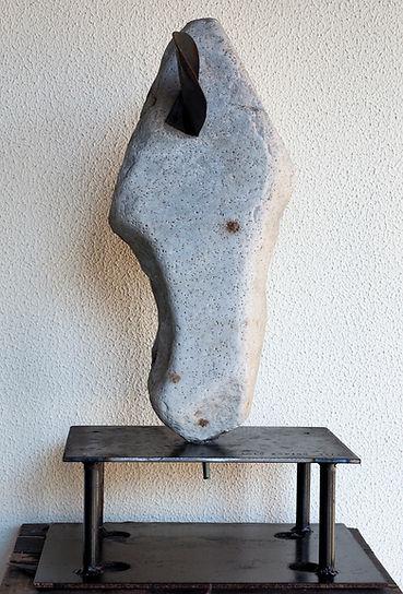 Lolo Zapico sculpture cabeza de caballo